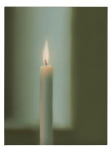 Gerhard Richter candle painting